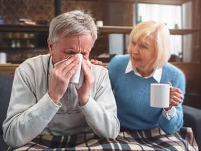 Cómo cuidar a nuestros mayores cuando tienen gripe